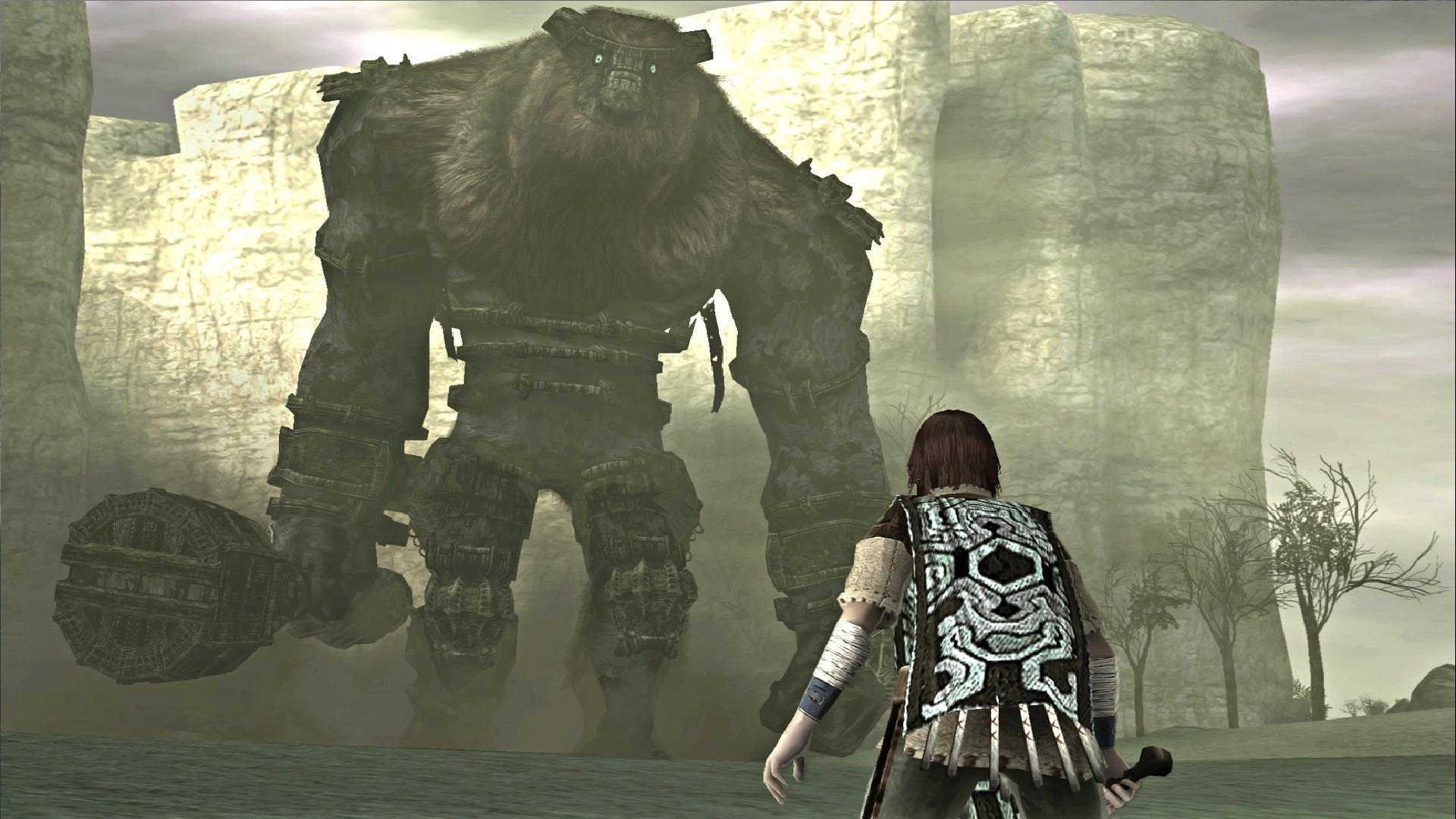 Pelea contra el primer coloso