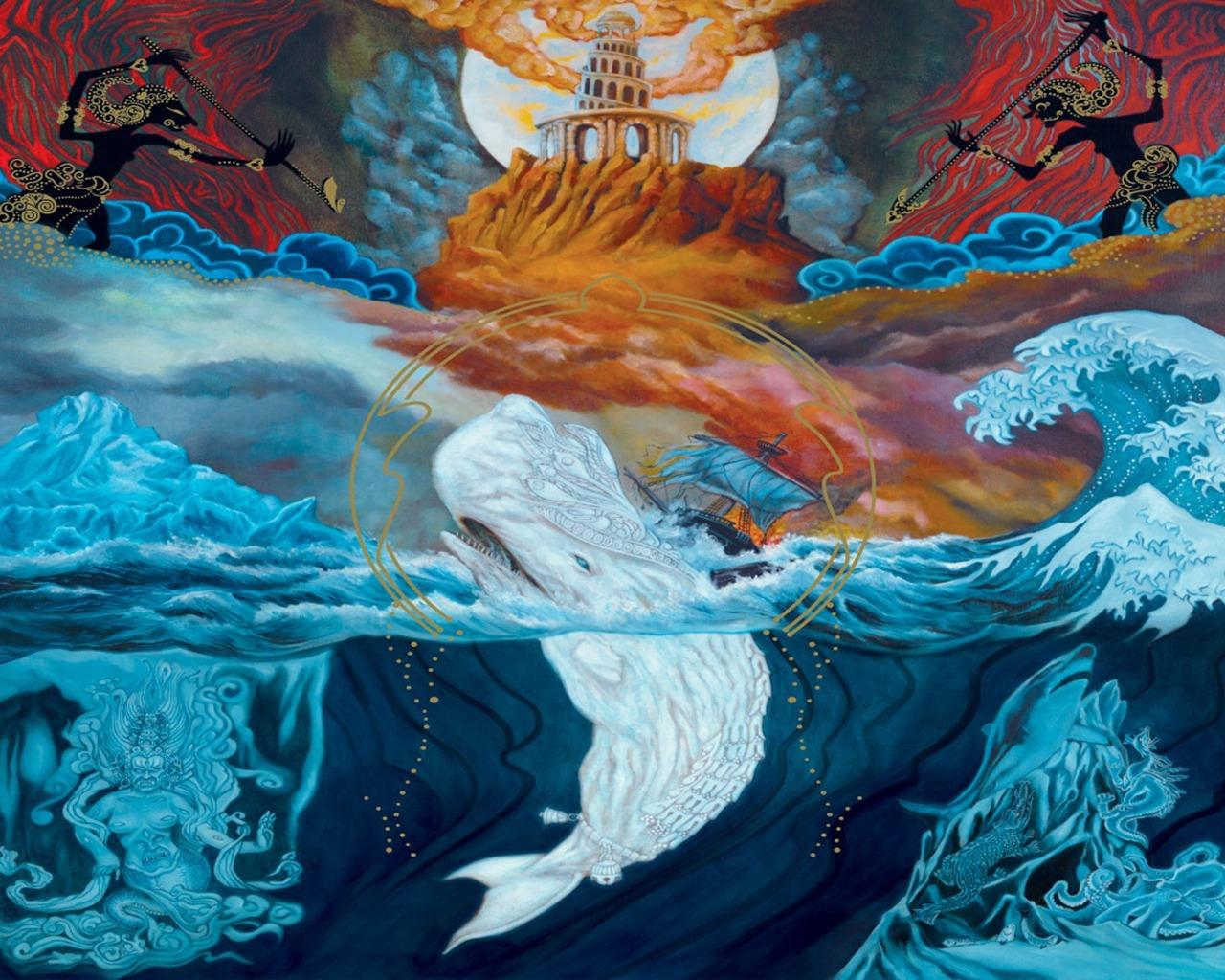Portada de Leviathan de Mastodon