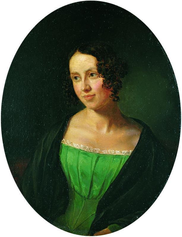 Retrato de Regine Olsen