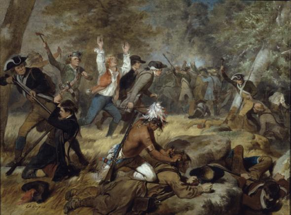 Conflicto armado de la batalla de Wyoming