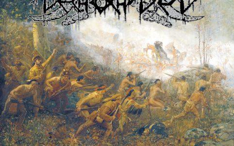 portada del album mostrando a nativos con fusiles atacando al enemigo