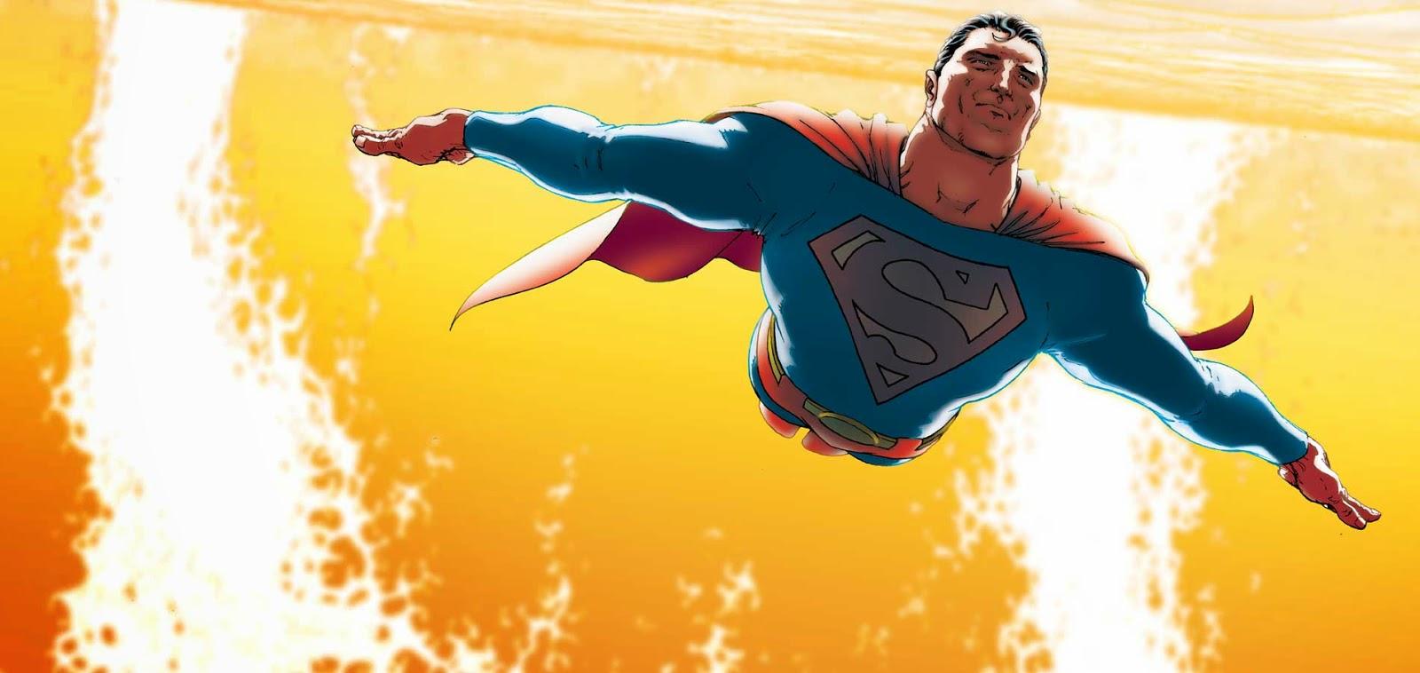 Panel de All-Star Superman