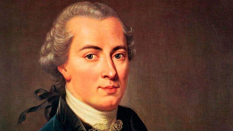 El filósofo alemán Immanuel Kant