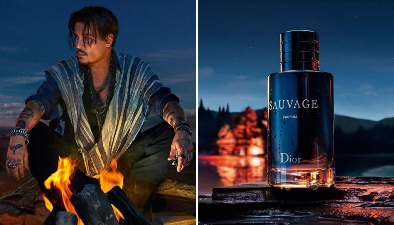 Campaña para Dior Sauvage